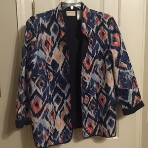 Alfred dunner classic quilted jacket